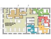 Plánek 1. nadzemní podlaží