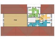 Plánek 3. nadzemní podlaží