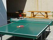 Venkovní posezení, stolní tenis, gril ...