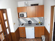Dolní apartmán - kuchyňka