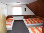 Horní apartmán - pokoj pro 4 osoby