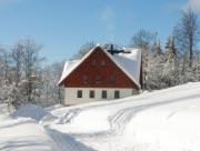 Hájenka v zimě