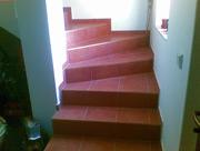 Hotové betonové schodiště