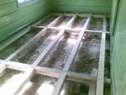 Dřevěná podlaha Buřany před