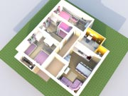 Apartmán pro 8 osob