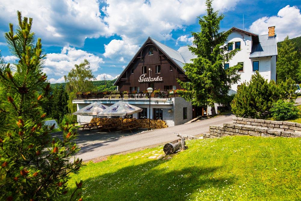 Cottage + hotel SVĚTLANKA