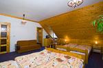 rodinný čtyřlůžkový pokoj