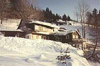 Horská bouda SKUHROVEC (zima)
