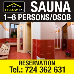 Yellowski sauna