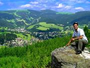 Výhled na Rokytnici nad Jizerou - léto