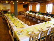 Společenská místnost - svatební hostina