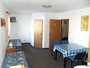 Dolní apartmán - pokoj pro 4 osoby
