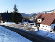 Zima - parkoviště