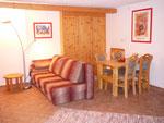 Apartmá 1 - obývací pokoj