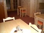 Společenská místnost k pokojům