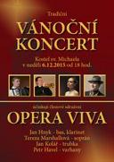 Vánoční koncert Opera Viva