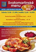 Svatomartinské menu v Hotelu Helena