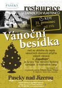 Vánoční besídka v Penzionu Paseky