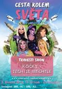Travestie show: Cesta kolem světa