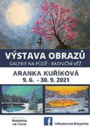 Výstava obrazů – Aranka Kuříková