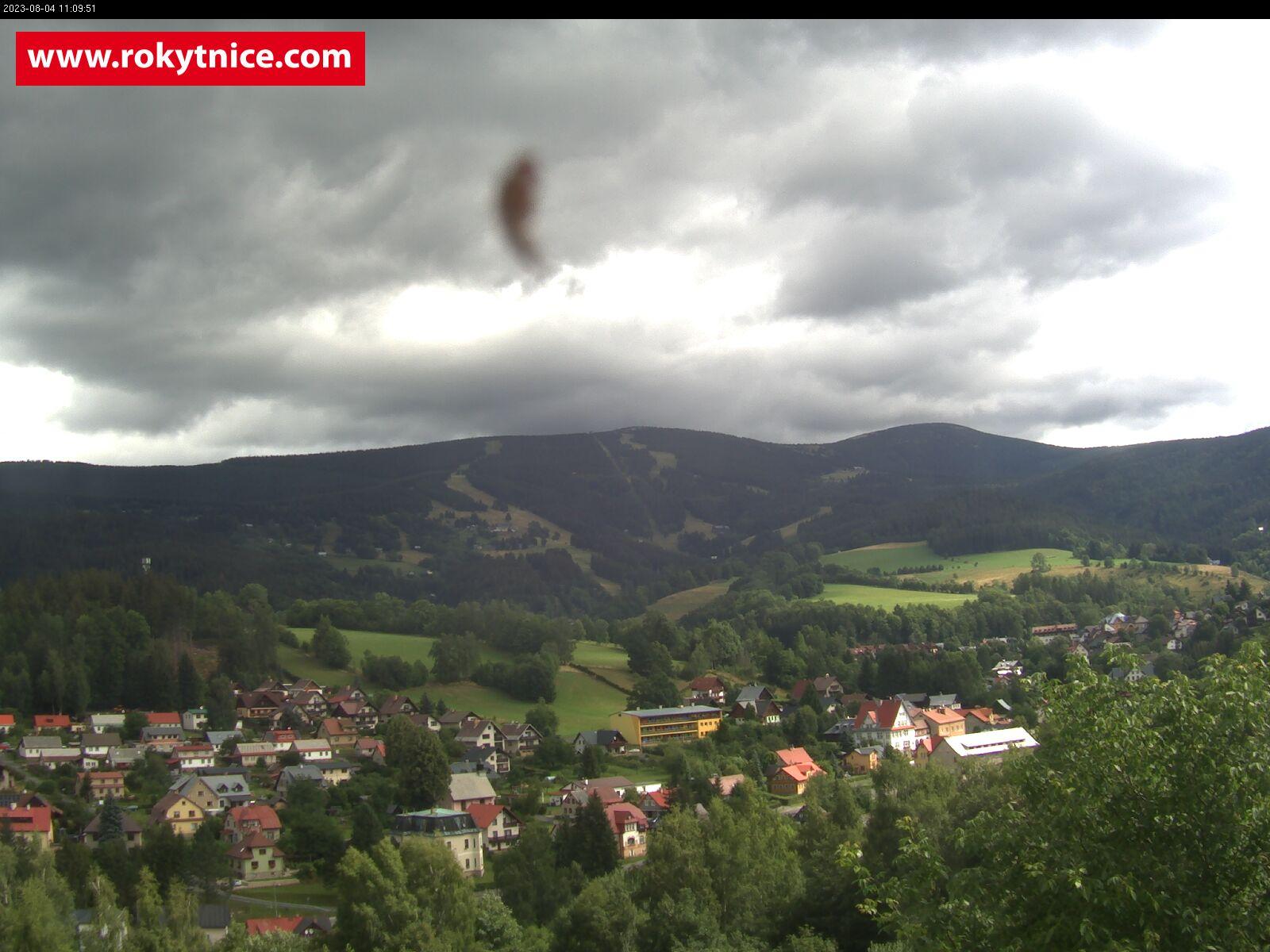 Webová kamera panorama Rokytnice nad Jizerou